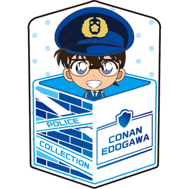 名探偵コナン キャラ箱クッションVol.4警察コレクション 江戸川コナン