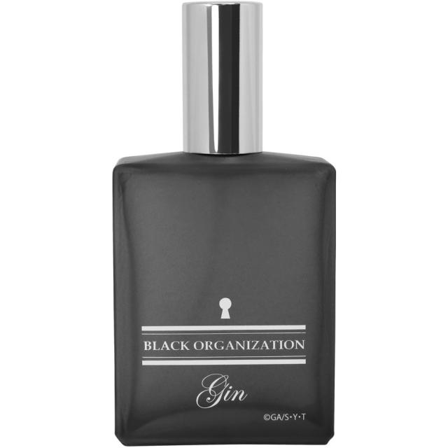 第2次受注生産【2020年3月下旬発売予定】名探偵コナン ブラックパフューム【ジンの香水】通常版