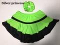 即納★2018秋新作★132番★GREEN★Silver princessオリジナル限定販売♪★スケートスカート★子供L*140-145cm