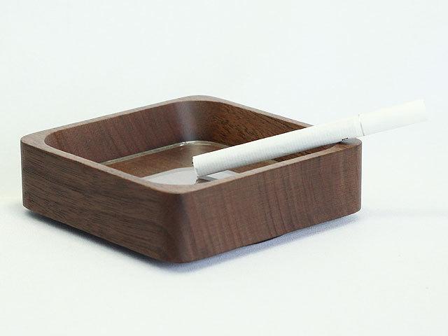 木製灰皿四角型