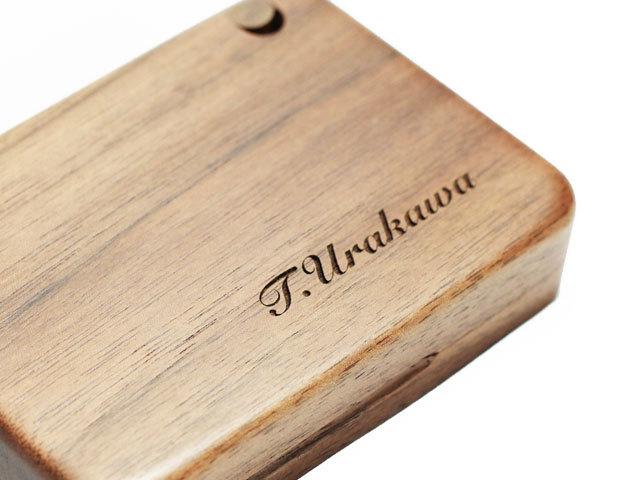 木製シガレットケース