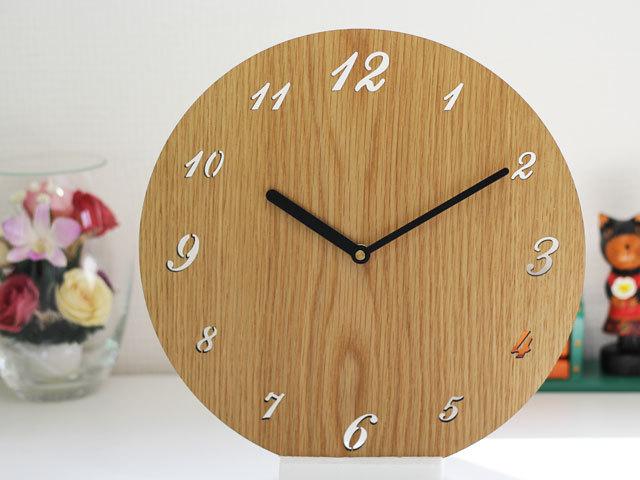 木製壁掛け時計