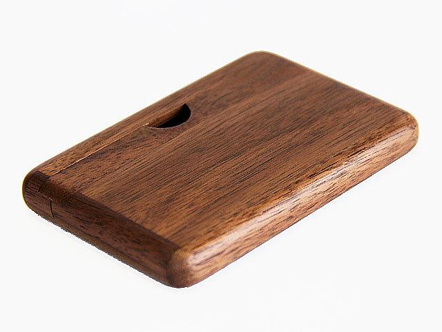 木製カードケース ウォルナット