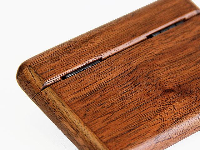 木製カードケース 背面