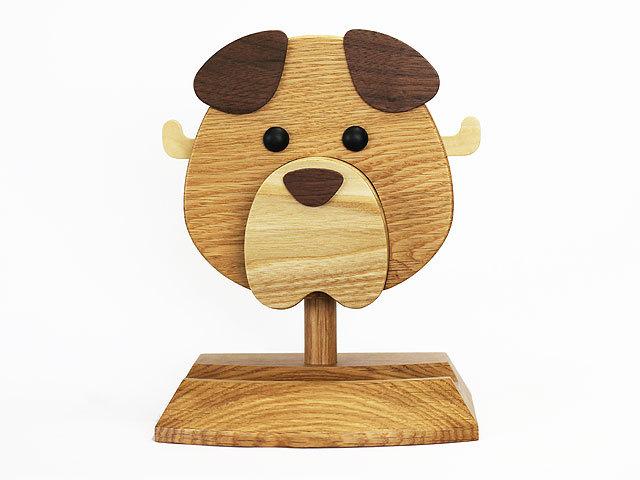 イヌ型メガネスタンド コロ