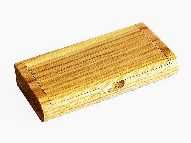 木製一枚フタ印鑑ケース ナラ