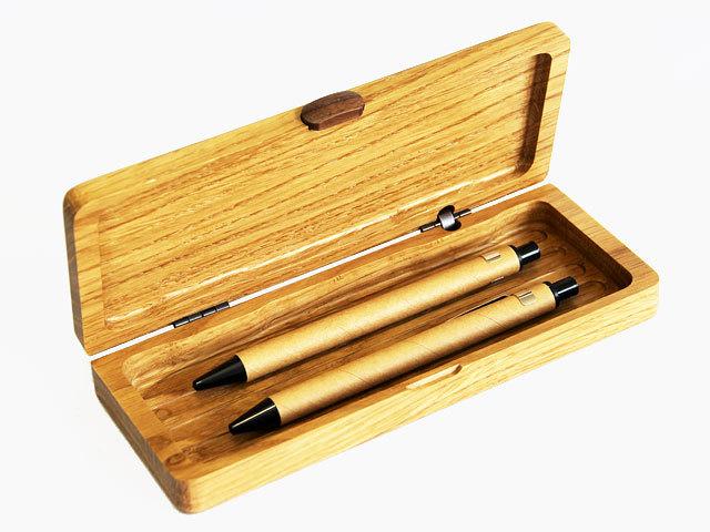 木製ミニペンシルケース ナラ