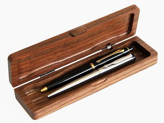 木製ミニペンシルケース ウォルナット