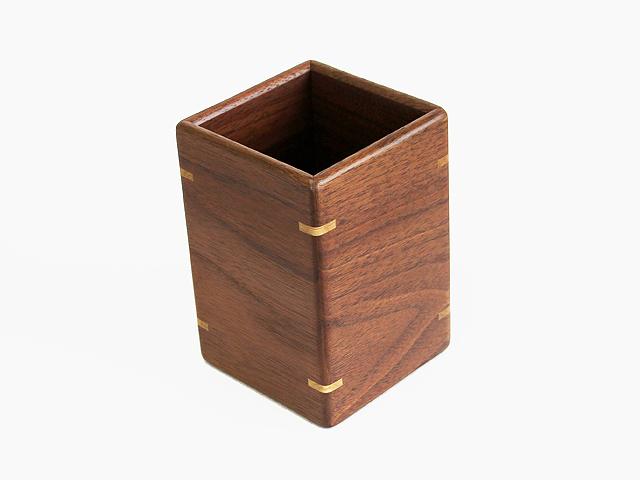 木製ペンスタンド ウォルナット