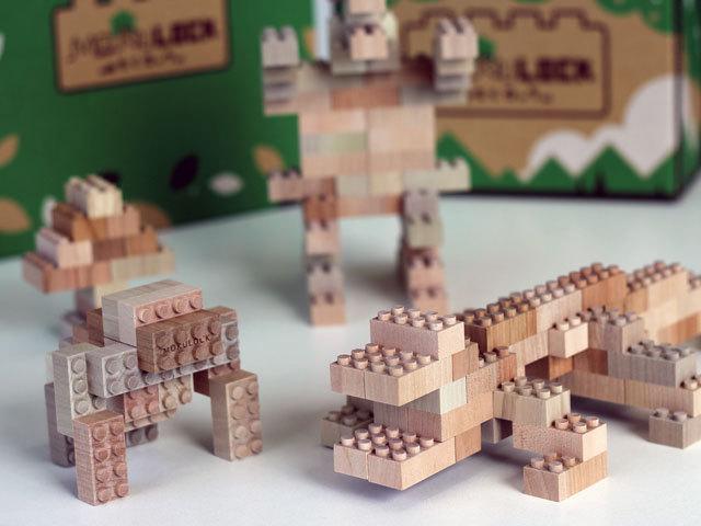 木製ブロック作品