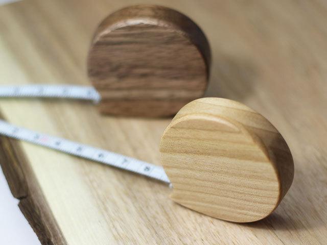 木製メジャー 丸型