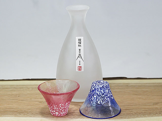 招福杯富士山酒器セット
