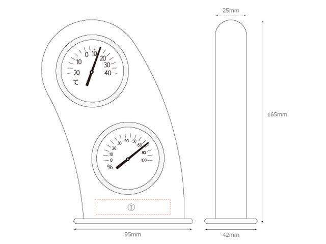木製スマイル温室時計スペック