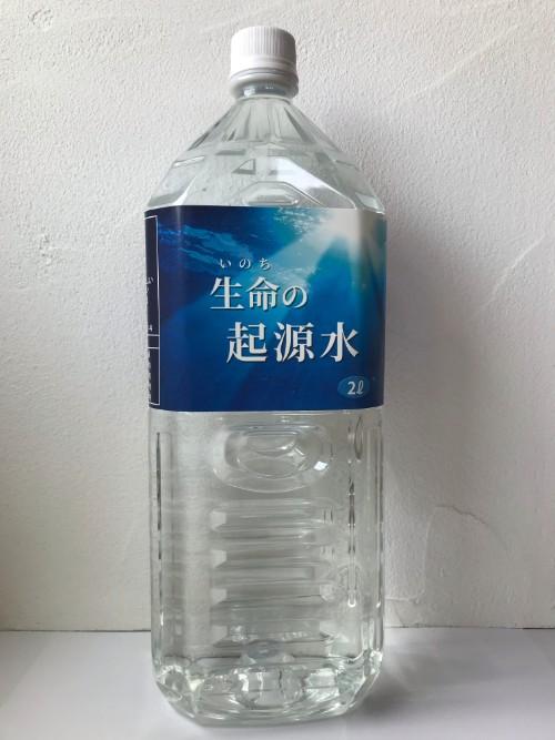 生命(いのち)の起源水 (2L)×1本