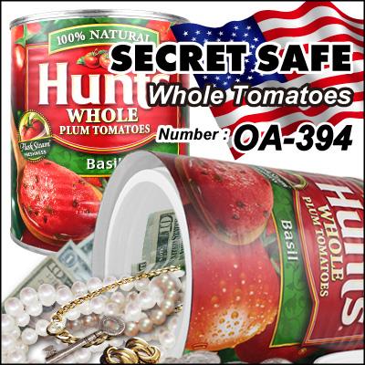 隠し金庫 食品缶型 フード缶詰デザイン 収納 セーフティボックス『SECRET SAFE シークレットセーフ』 (OA-394)