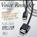 ボイスレコーダー USBケーブル型 (NB-002)