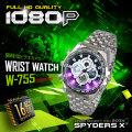 腕時計型カメラ 小型カメラ スパイダーズX (W-755)