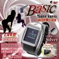 【小型カメラ】デジタル腕時計型スパイカメラ(カラー:シルバー) スパイダーズX(Basic Bb-633)1.44型TFT液晶モニター搭載