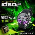 腕時計型カメラ 小型カメラ スパイダーズX (W-780)