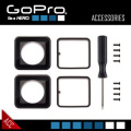 GoPROアクセサリー 40m防水ハウジング用の補修用レンズセット ASLRK-301『40m防水ハウジングレンズリプレースメントキット』(FE-034)