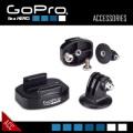 GoPROアクセサリー 三脚固定用マウントのセット ABQRT-001『トライポッドマウントセット』(FE-043)