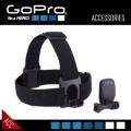 GoPROアクセサリー 頭部固定用マウントとクリップ式マウントのセット ACHOM-001『ヘッドストラップ&クリップ』(FE-048)
