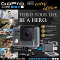 ウェアラブル ドライブレコーダー 世界で最も多目的なカメラ CHDHA-301 『GoPRO HERO』(FE-061)