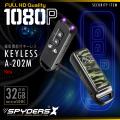 キーレス型カメラ ワンボックス軽自動車モデル 小型カメラ スパイダーズX (A-202M) スパイカメラ 赤外線ライト 高画質