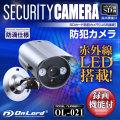 SDカード防犯カメラ バレット型 (OL-021)