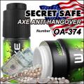 隠し金庫 スプレー缶型 デオドラントスプレーデザイン 収納 セーフティボックス『SECRET SAFE シークレットセーフ』 (OA-374)