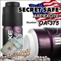 隠し金庫 スプレー缶型 デオドラントスプレーデザイン 収納 セーフティボックス『SECRET SAFE シークレットセーフ』 (OA-375)