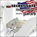 隠し金庫 SPECIAL! 電源延長タップデザイン 収納 セーフティボックス『SECRET SAFE シークレットセーフ』 (OA-379) Surge Protector
