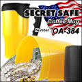 隠し金庫 SPECIAL! ペットボトル飲料デザイン 収納 セーフティボックス『SECRET SAFE シークレットセーフ』 (OA-383) Aquafina ver.2