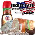 隠し金庫 食品ボトル型 コーヒーミルクボトルデザイン 収納 セーフティボックス『SECRET SAFE シークレットセーフ』 (OA-402)