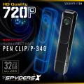 ペンクリップ型ビデオカメラ スパイダーズX (P-340)
