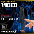 ボタン型ビデオカメラ 小型カメラ スパイダーズX (M-936)