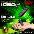 スパイダーズX 小型カメラ ビデオカメラユニット スパイカメラ U-202
