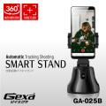 ジイエクサ(Gexa) 360°回転 自動追跡 スマホスタンド 自撮り 雲台 iPhone Android対応 乾電池式 GA-025B