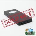 【アウトレット品jnc1066】充電器型カメラ モバイルバッテリー 小型カメラ スパイダーズX (A-604) スパイカメラ 1080P モニター付 長時間録画
