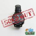 【アウトレット品jnc1262】腕時計型カメラ 小型カメラ スパイダーズX (W-735) 隠しカメラ フルハイ 16GB内蔵