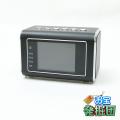 【アウトレット品jnc1324】ポータブルスピーカー型カメラ 小型カメラ スパイダーズX (M-918B) ブラック スパイカメラ 液晶画面 赤外線ライト