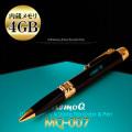 実用スパイアイテム 録音 高音質 内蔵メモリ4GB ペン型ボイスレコーダー『MQ-007_4G』(OA-1260)