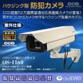 【防犯カメラ、監視カメラ】 屋外ハウジング型防犯カメラ ロングサイズ(OS-1160) CCD52万画素高画質カメラ 望遠対応 屋外仕様