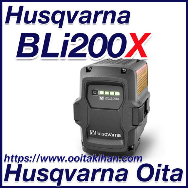 ハスクバーナバッテリー/BLi200X