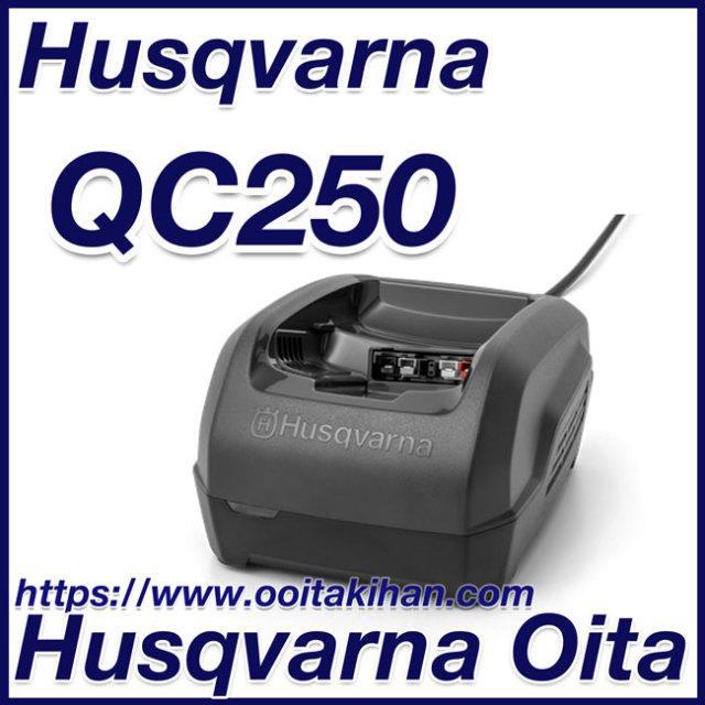 ハスクバーナ 充電器/QC250