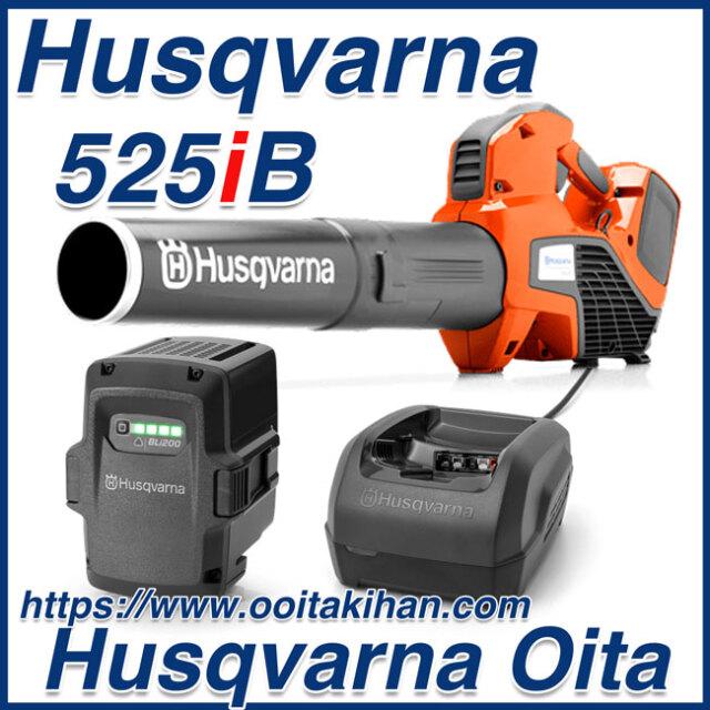 ハスクバーナバッテリーブロワー525iB/バッテリー&充電器セット/国内正規品