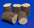 クヌギ産卵木Mサイズ5本セット 太さは約9センチ〜10センチ