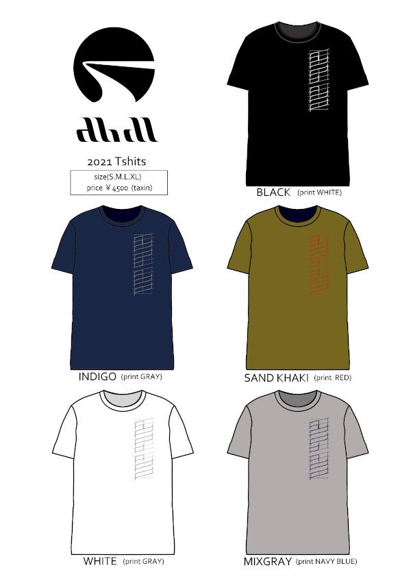 ★ご予約商品★ アブディール 「abdl 2021 T-Shirts」 【クリックポスト発送可】 ※7月上旬頃入荷予定