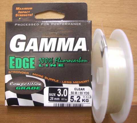 GAMMA TECHNOLOGIES ガンマテクノロジーズ 「ガンマ エッジ ライン フロロカーボン 46m」【メール便可】