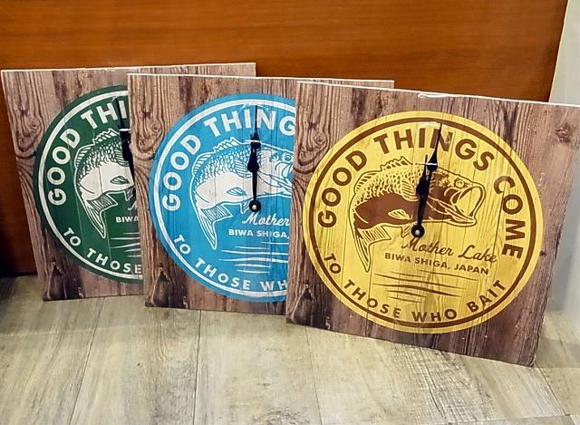 LEGACY 「WALL DECOR Pallet Wood Clock 時計」